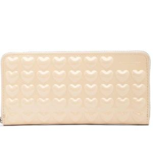 Marc Jacobs – Heart Leather Continental Wallet
